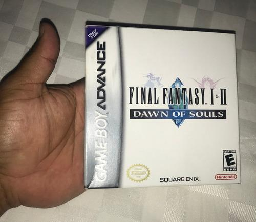 Juego Nintendo Gba Game Boy Advance 30v Final Fantasy 1 Y 2