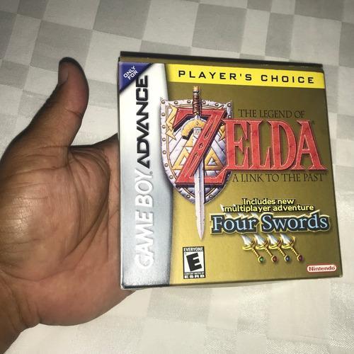 Juego Nintendo Gba Game Boy Advance 40v Zelda Four Swords