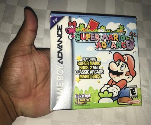 Juegos Nintendo Gba Game Boy Advance 30v Super Mario Advance