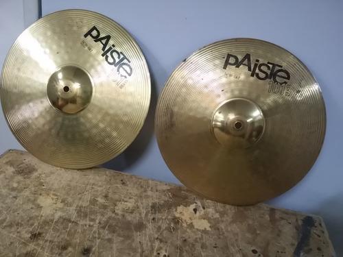 Paiste 101 Brass 14 Hi-hat Cymbals