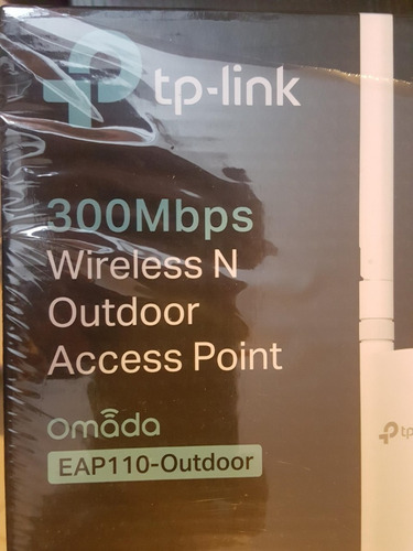 Access Point Exteriores Tp-link Eap-110 Wifi 2.4ghz N300