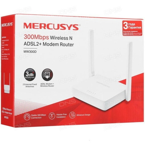 Modem Router Mercusys Mw300d Wi Fi Aba Cantv