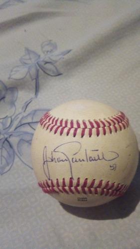 Pelota De Beisbol Autografiada Por Johan Santana
