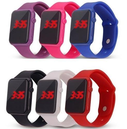 Reloj Led Tipo Pulsera De Silicon Somos Tienda Cod 717