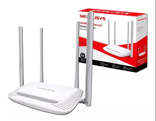 Router Inalambrico 300mbps Mercusys Mw325r Gs