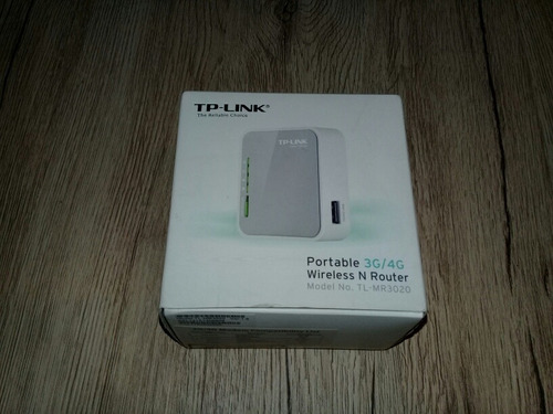 Router Portable 3g/4g Tp Link Tl Mr