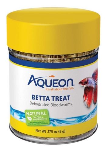 Alimento Peces Bettas Bloodworms Aqueon 5 Grs X 2 Unidades