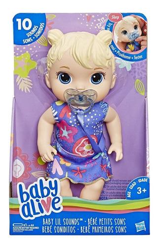 Baby Alive Bebe Soniditos Original Hasbro (25v)