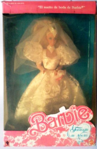 Barbie Fantasía De Novia  Mattel  En Caja Original