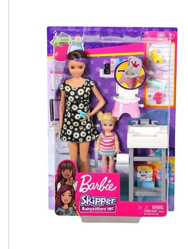 Barbie Skipper Babysitters Inc Entrenamiento. Mattel Origina