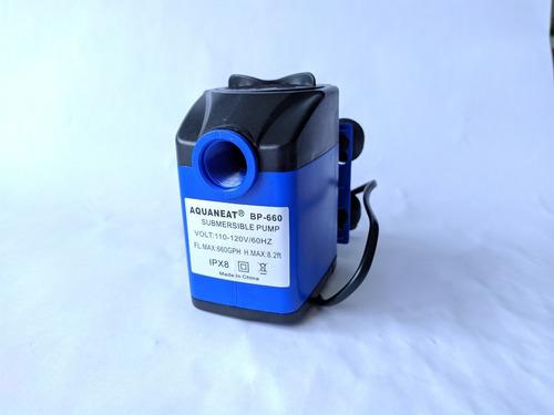 Bomba De Agua Sumergible Aquaneat 660 G/h Acuarios Fuentes