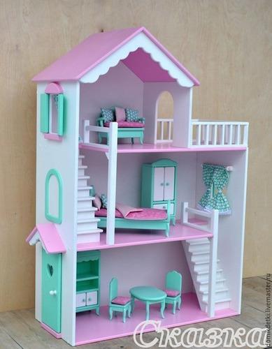 Casa De Muñecas Barbie: 150 Verdes Negociables