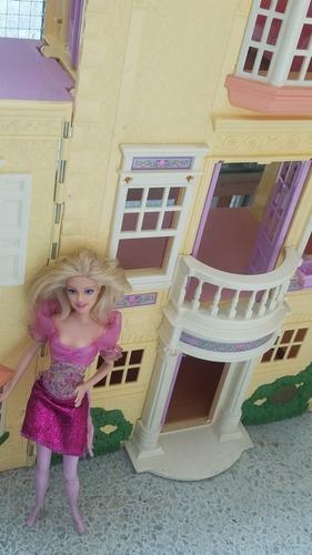Casa De Muñecas Carro Barbie Surfista Bicicleta De Barbie