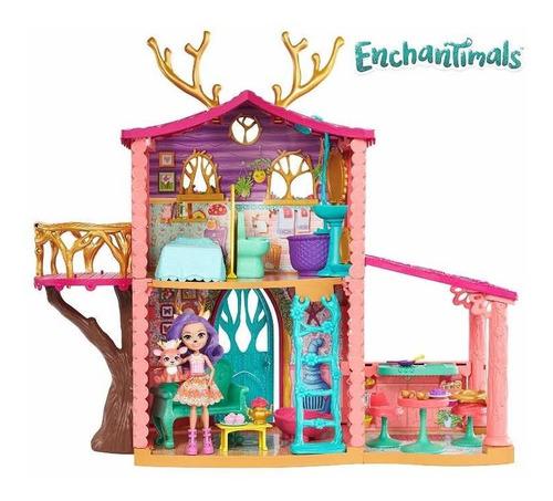 Enchantimals Casa De Amistades Mattel Original Nueva!! 60 Cm