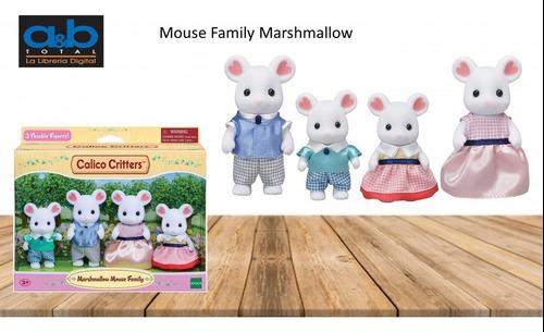 Familia De Ratones Marshmallow Calico Critters
