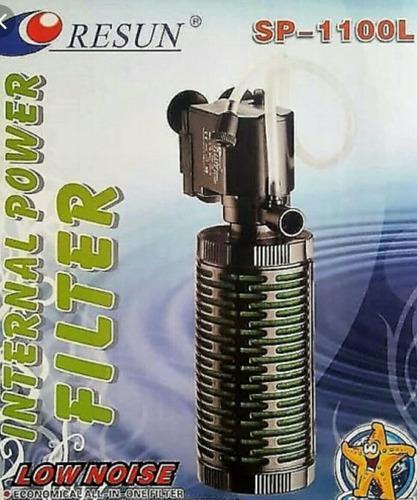 Filtro Interno Para Acuarios Resun 1100l, Ciclo 570 Lh
