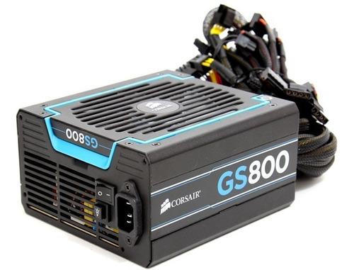 Fuente De Poder 800w Corsair Gs800 Pc Gamer Gaming Series