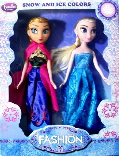 Juego De 2 Muñecas Frozen 23 Cm Mayor Y Detal Somos Tienda.