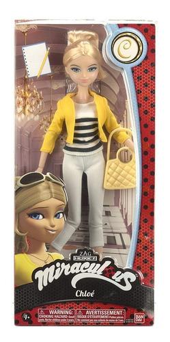 Miraculous Las Aventuras De Ladybug, Muñeca Chloe De 28 Cm.