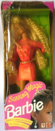 Muñeca Barbie Earring Magic En Su Caja Original
