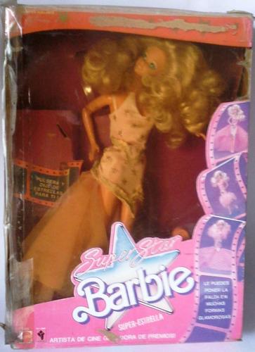 Muñeca Barbie Super Estrella - Superstar En Su Caja