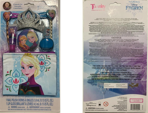 Muñeca, Cosmeticos, Reloj Y Mas Frozen Disney