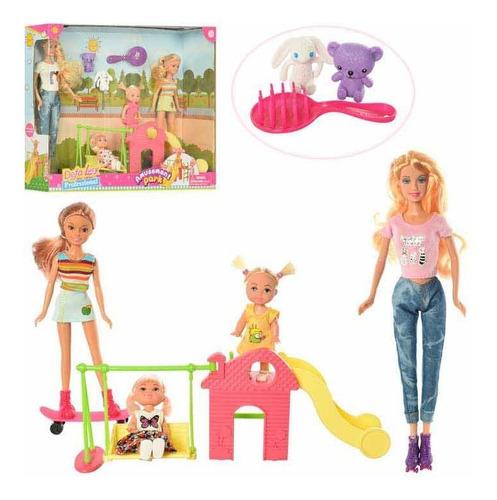 Muñeca Tipo Barbie Defa Lucy En El Parque Cod.