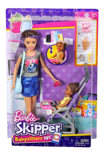 Muñecas Barbie Babysitters Inc Skipper Originales