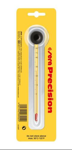 Sera Termómetro De Vidrio Con Chupón Para Acuarios ° C X