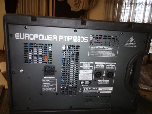 Behringer Pmps Europower Mezclador De Audio Amplificado