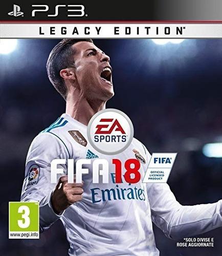 Fifa 18 Ps3 Juego Digital