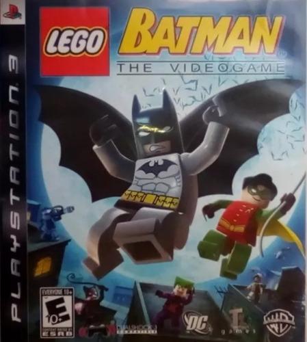 Juego De Play 3 Lego Batman 1, 2 Y 3