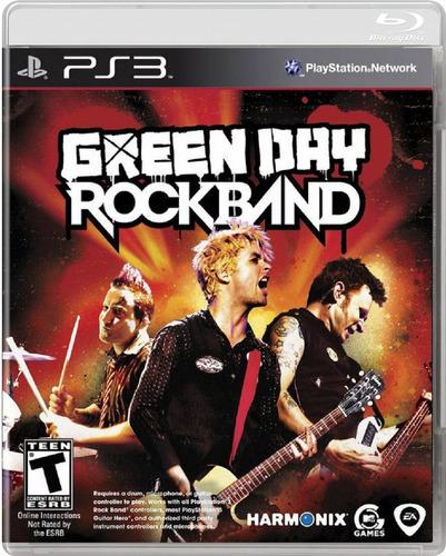 Juego Original Green Day Rock Band Para Consola Ps3 (6v)