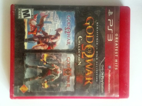 Juego Original Playstation 3 God Of War Collection 2 Y Mas