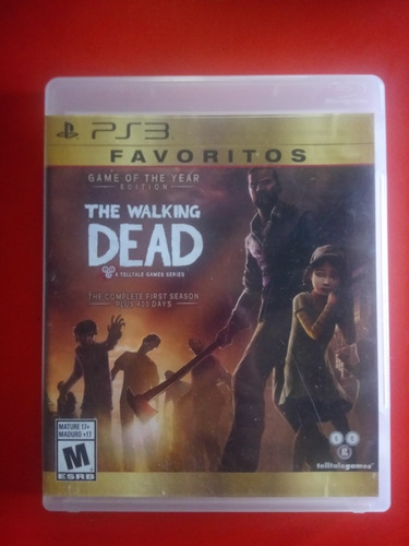 Juego Original Playstation 3 The Walking Dead Y Mas