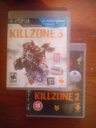 Juegos Originales Playstation 3 Combo Killzone Y Mas