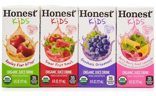 Jugos Organicos Honest Kids