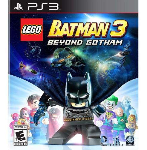Lego Batman 3 Beyong Gotham Ps3 Digital Original