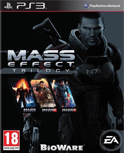 Mass Effect Trilogy Ps3 - Formato Digital