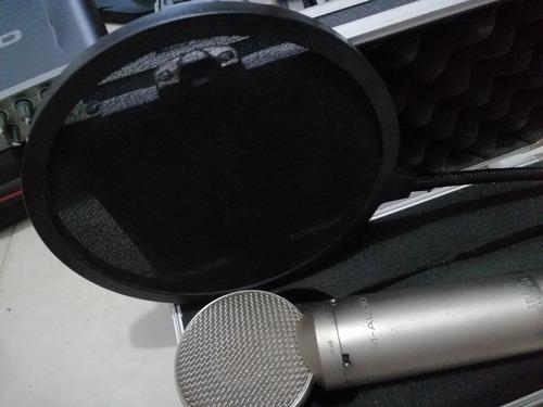 Micrófono De Grabación Profesional Con Filtro