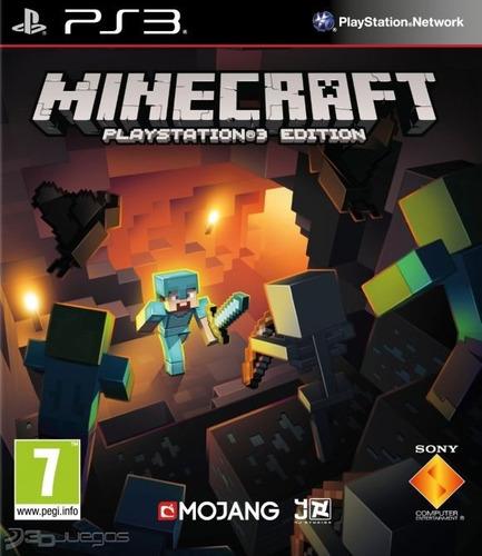 Minecraft Ps3 Digital Original Entrega Personal Tienda