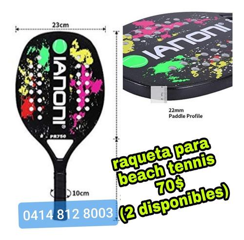 Raqueta Beach Tennis Y Bolso