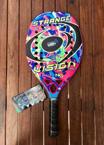 Raqueta De Beach Tennis Vision Strange