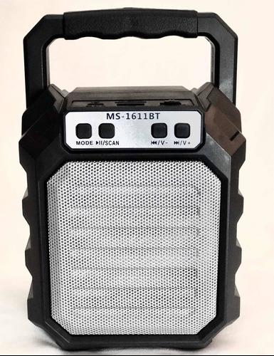 Corneta Inalámbrica Bluetooth - Usb - Micro Sd - Radio