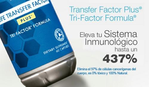 4life Transfer Factor Plus Prevención Sistema Inmune Cancer