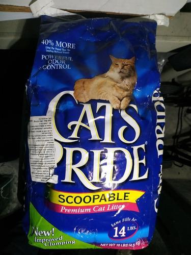 Arena Para Gatos Cats Pride 4,5kg/ 18 Dls.
