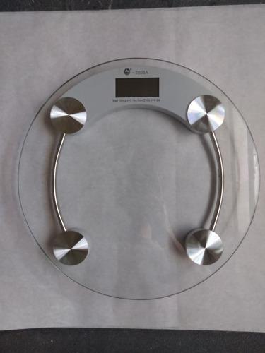 Balanza Peso Digital De Baño De Vidrio Templado 25 Verdes