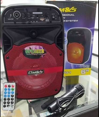Corneta Portátil Bluetooth Microfono+control Remoto 35v