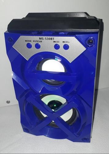 Corneta Portátil Bluetooth - Microsd - Radiofm - Ms530bt