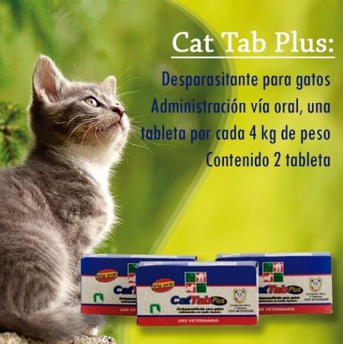 Desparasitante Para Gatos X 3